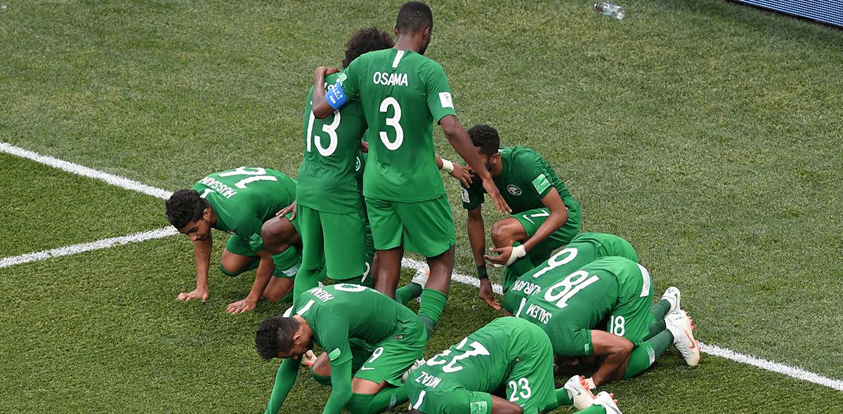 Resultado entre Arabia Saudita y Egipto