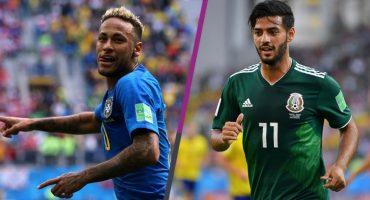 Octavos de Final: México irá frente a Brasil, Suecia ante Suiza