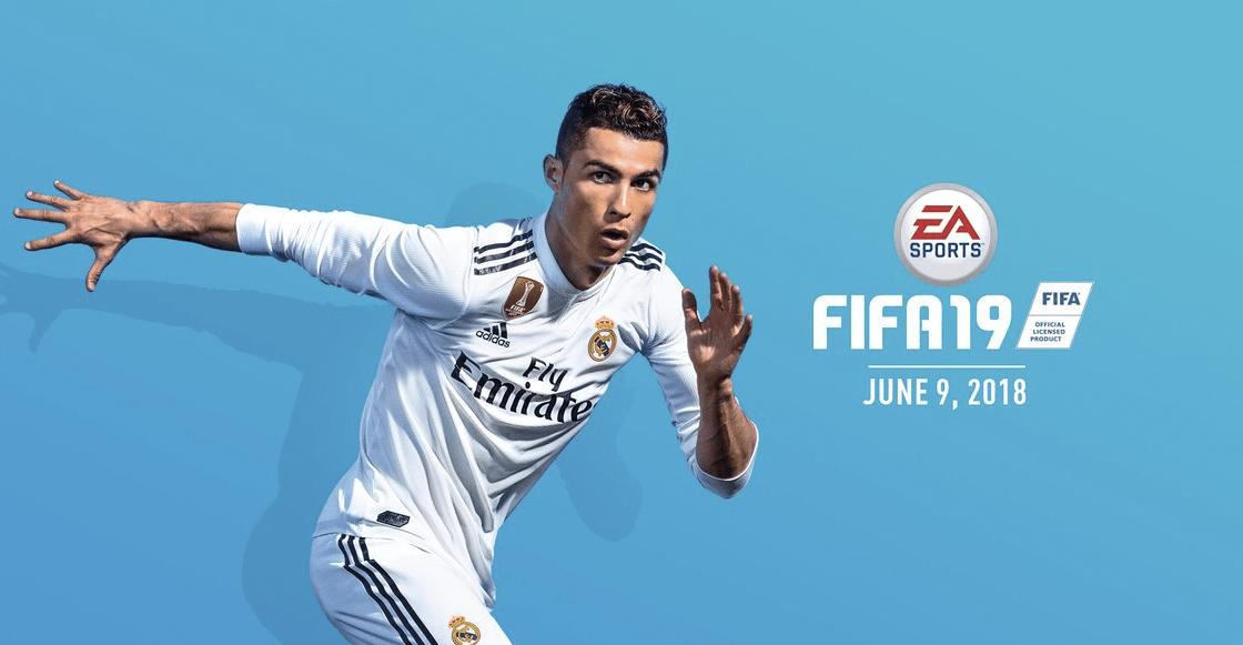 Cristiano Ronaldo es la portada del videjuego FIFA19