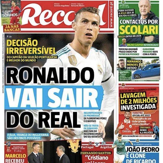El futuro de Cristiano Ronaldo en el Real Madrid...¡se complica!