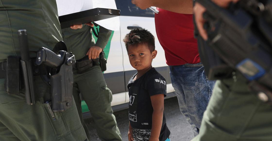 Campamentos niños migrantes frontera Estados Unidos