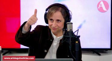 ¡Victoria para Aristegui! La ruptura de su contrato con MVS sí fue ilegal