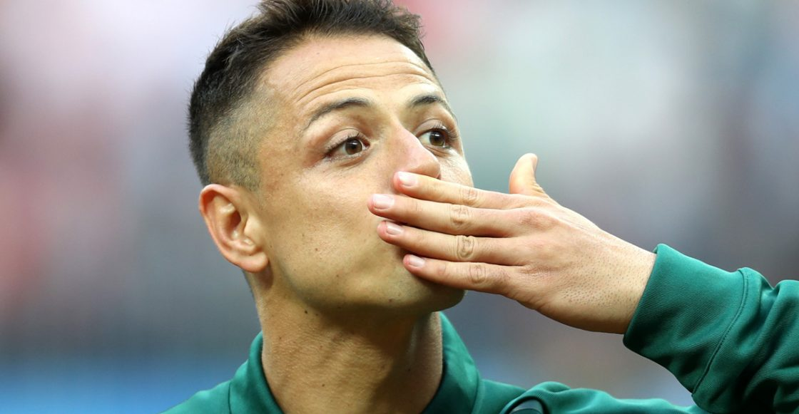Chicharito Hernandez Mexico frente Alemania