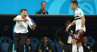 Osorio y 'Chicharito' hablan previo al partido ante Suecia