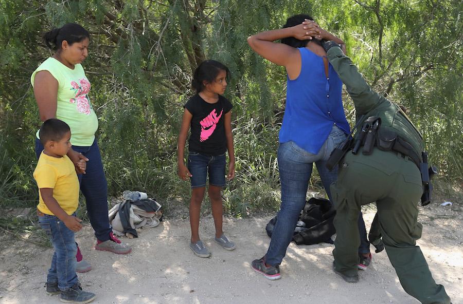 Detenciones de migrantes ilegales
