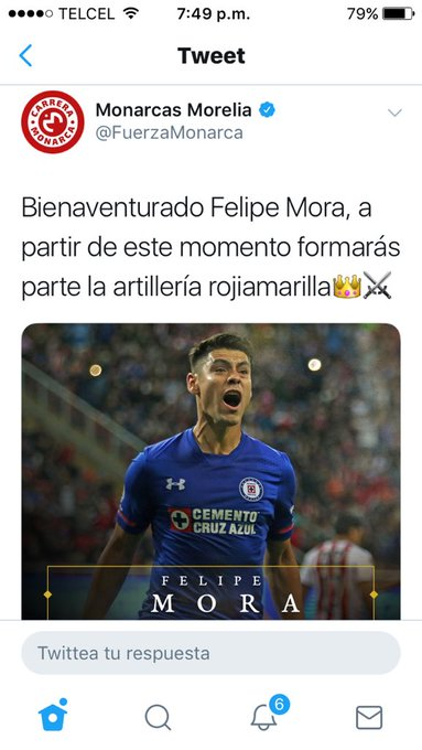 Morelia anunció a fierro y Mora