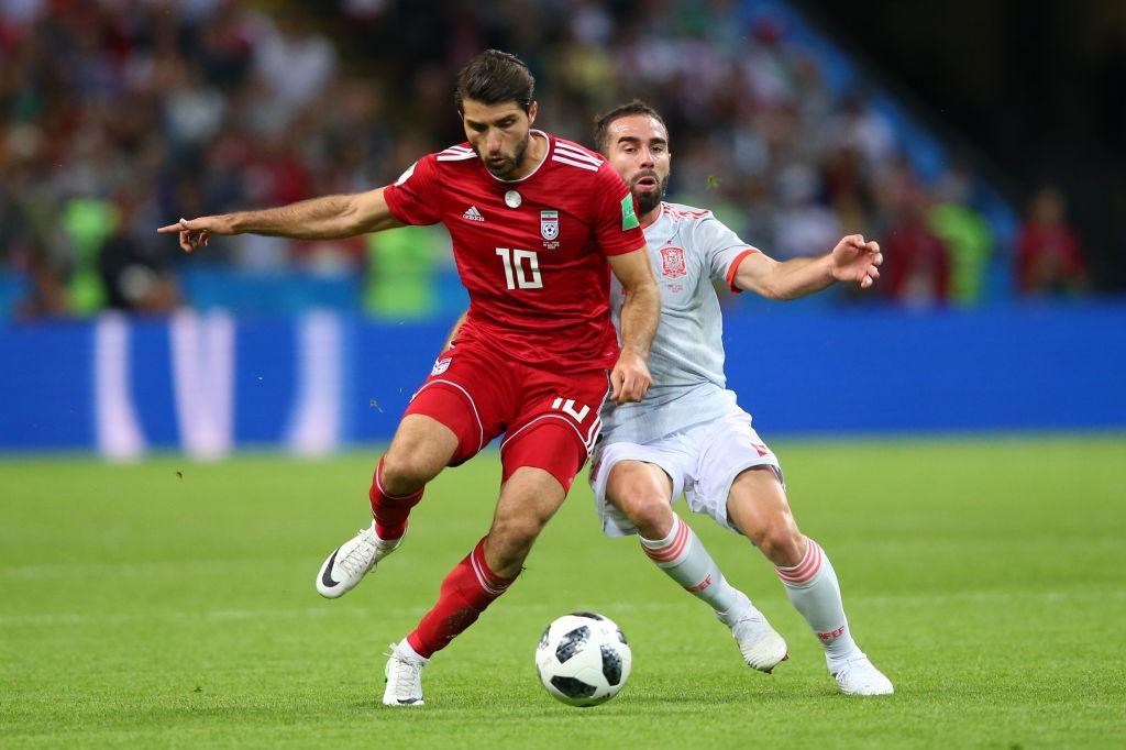 La Selección de Irán no se dejó en ningún momento