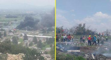 ¿Ooootra vez? Se registró una explosión en Tultepec, al menos un muerto