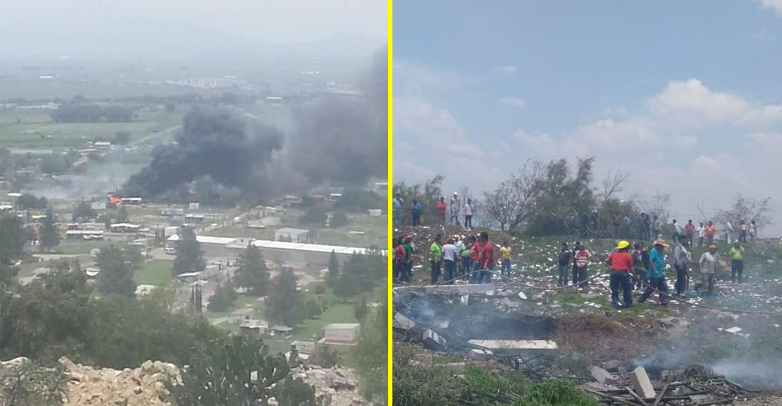 ¿Ooootra vez? Se registró una explosión en Tultepec, varios heridos