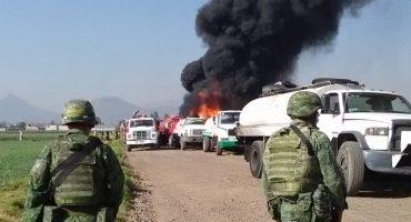 La explosión del ducto de Pemex en Toluca por el huachicoleo
