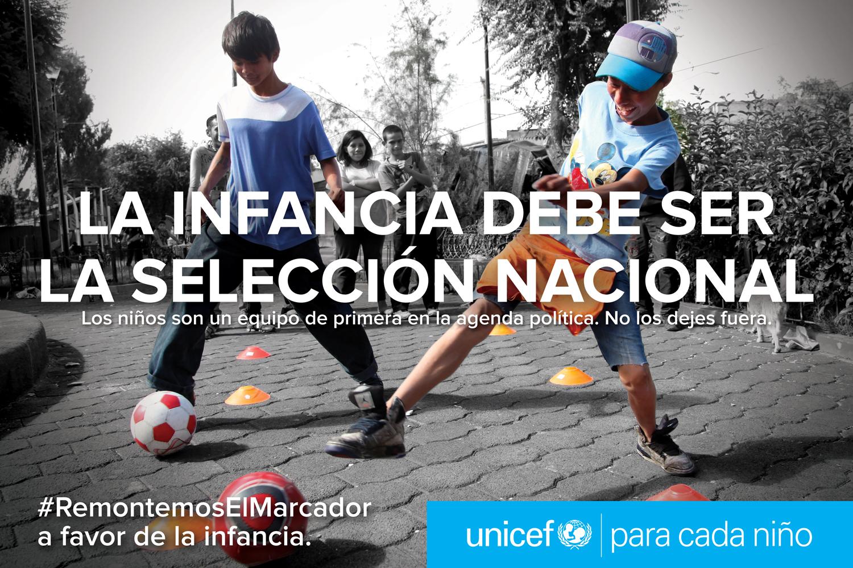 La nueva campaña de UNICEF