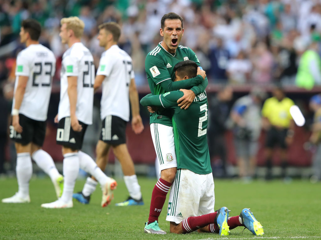 Triunfo histórico de México sobre Alemania
