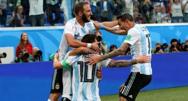 ¡Imperdible! Así se narró el primer gol de Messi en Rusia 2018