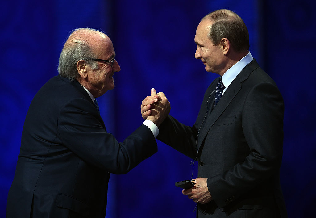 Blatter propone a Irlanda e Inglaterra para mundial del 2030