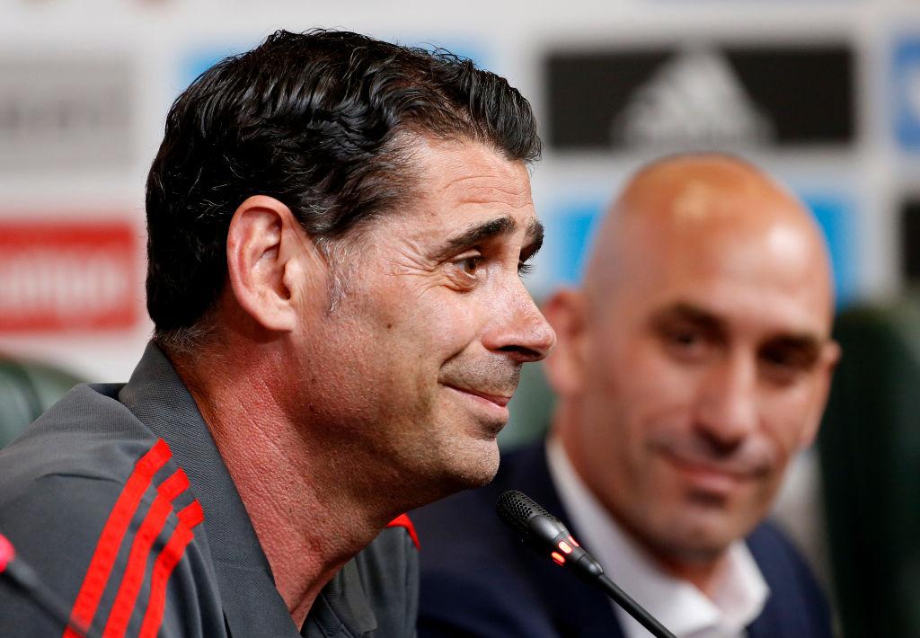 Fernandi Hierro confirma a De Gea como titular para España vs Rusia