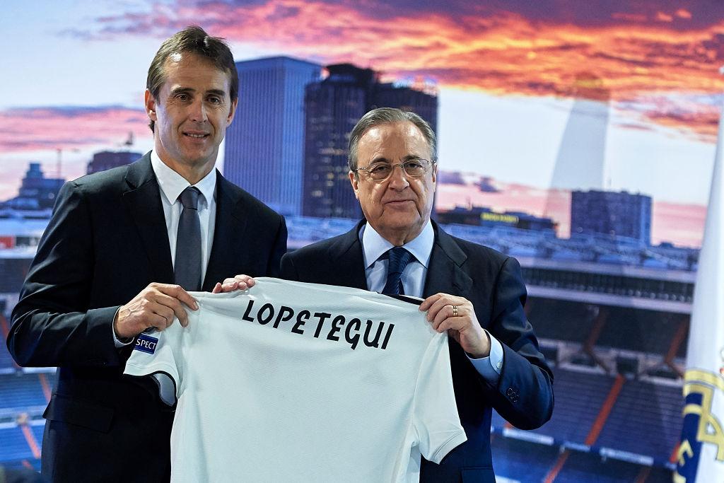 Julen Lopetegui ganará el doble en el Madrid que con España