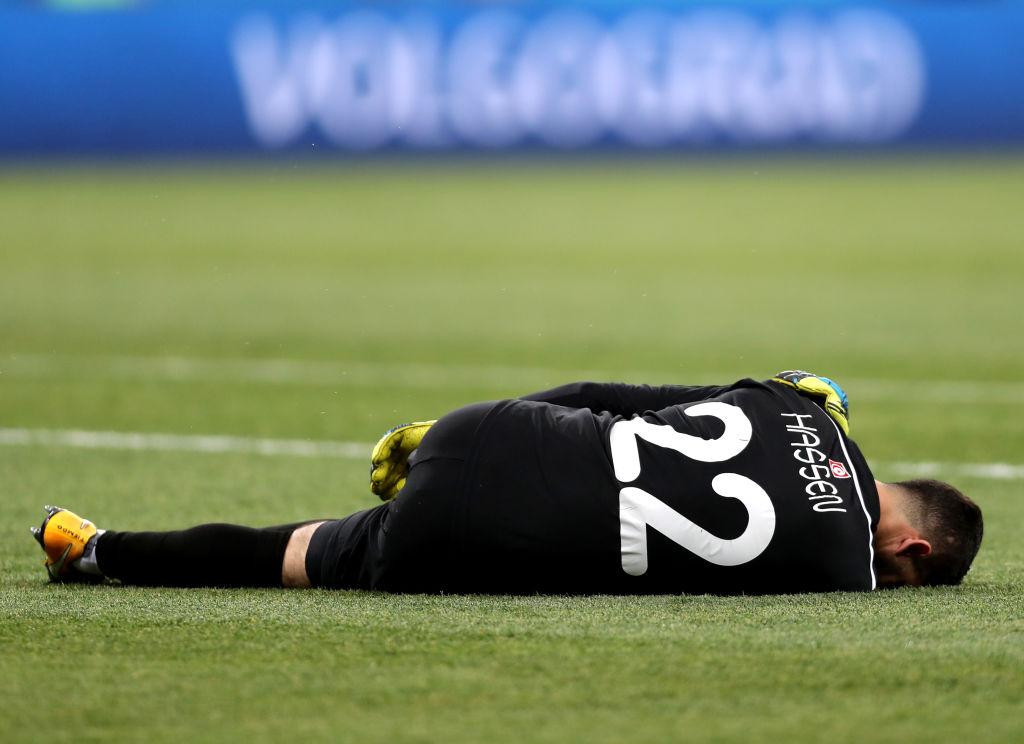 Mouez Hassen es baja por lesión en el hombro con Túnez