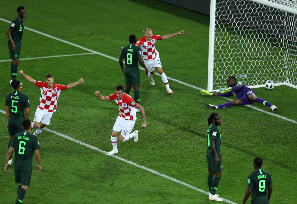 Croacia gana sus tres partidos en fase de grupos
