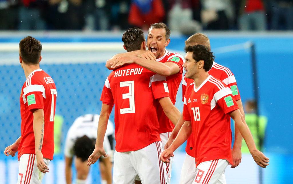 Ve en vivo el partido entre Rusia vs Urugyay