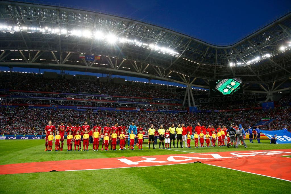 España es la única Seleccion que no cuenta con letra en su himno