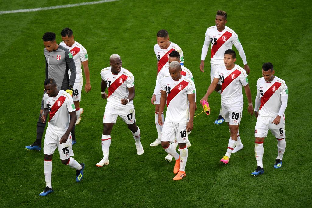 Imágenes de Paolo Guerrero como titular en el Mundial