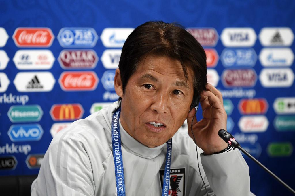 Akira Nishima ordeno pelotear para mantener resultado. DT de Japón