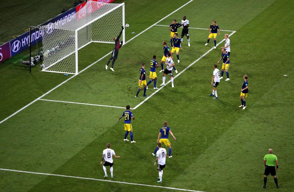 El golazo de Toni Kroos contra Suecia