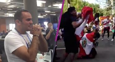 Hasta las lágrimas: así celebró Perú su primer gol en Rusia 2018