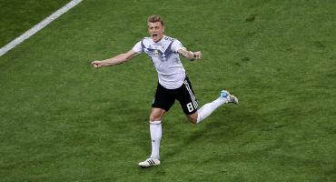 ¡Tooooor! 5 imágenes para que revivas el golazo de Toni Kroos contra Suecia