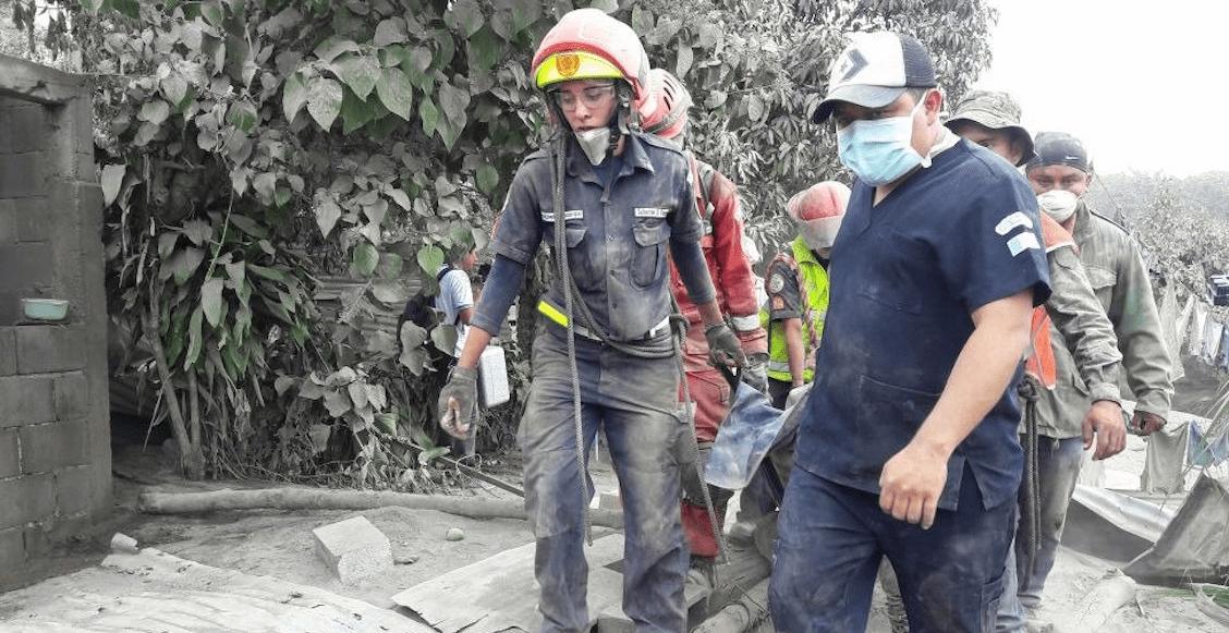 Guatemala aumentan las víctimas por el Volcán de Fuego