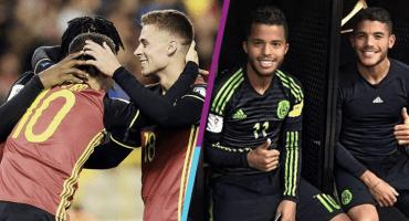 Los Hazard y otros hermanos que han jugado juntos en un Mundial
