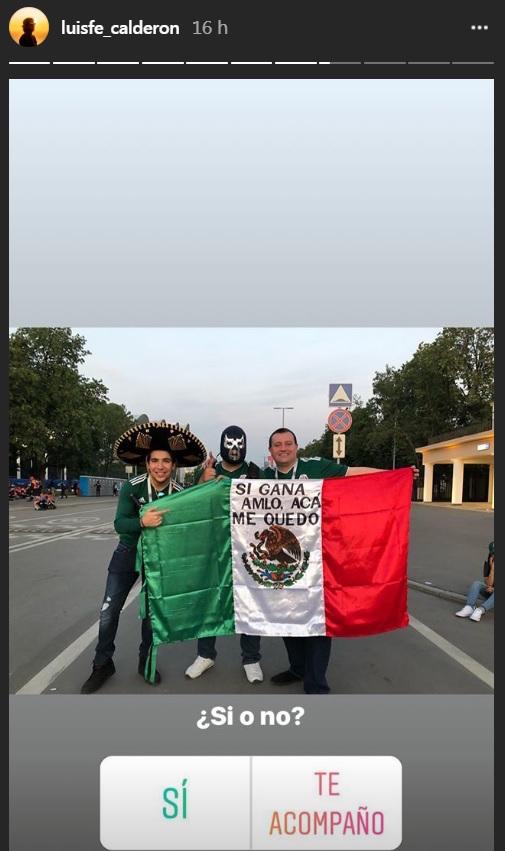 Hijo de Felipe Calderón Rusia AMLO