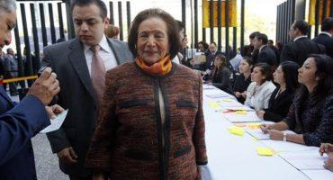 ¿Perredistas en fuga? Ahora renuncia Ifigenia Martínez, fundadora del PRD