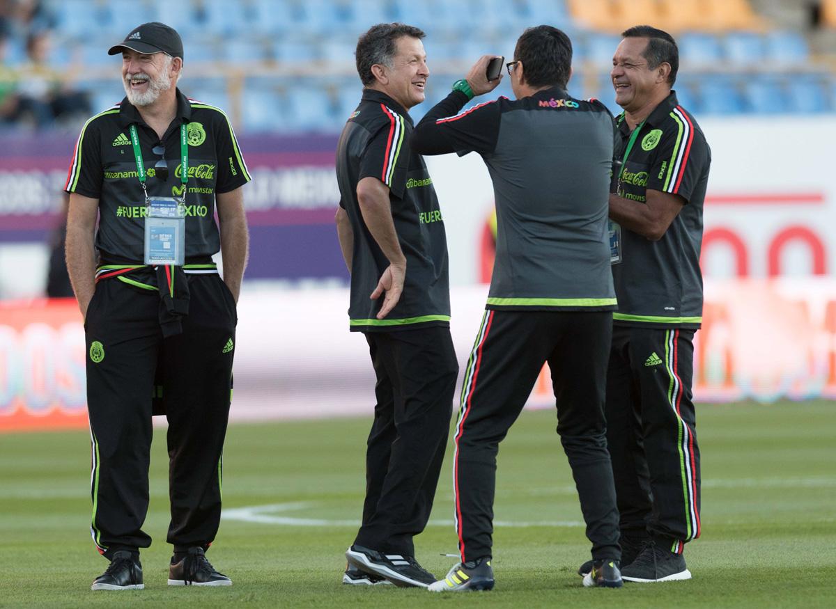 Imanol Ibarrondo Seleccion Mexicana de Futbol