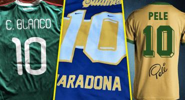 ¿Qué 10 te gusta más? Los mejores 'diez' en Copas del Mundo