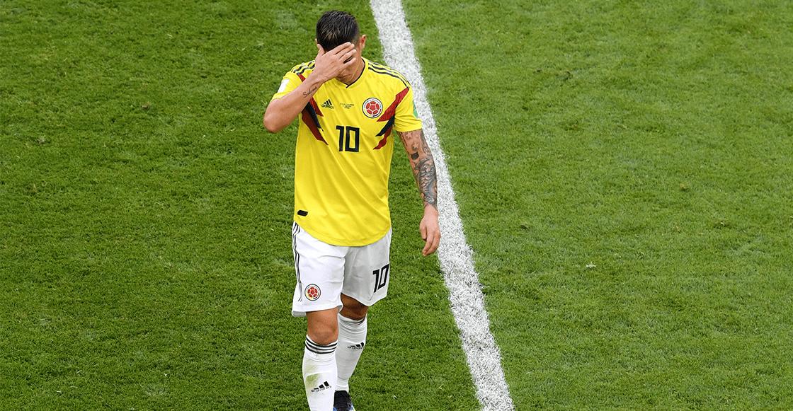 Ouch! James Rodríguez está fuera del Colombia vs Inglaterra por lesión