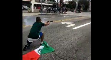 Mexicano atacó a policías en