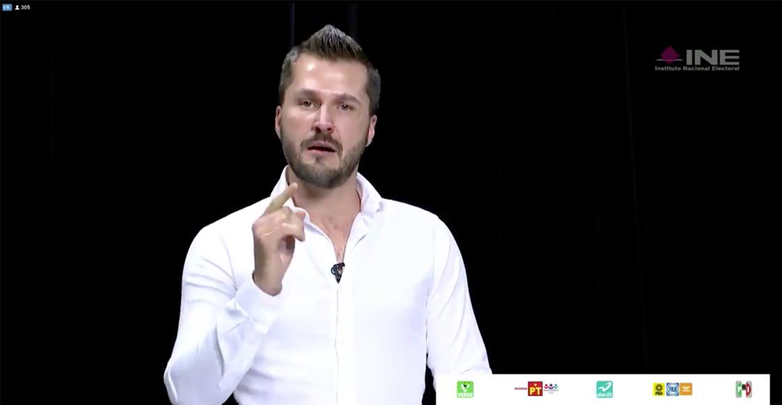 ¡Y en pleno debate! Candidato del PVEM en Puebla declina a favor de Morena