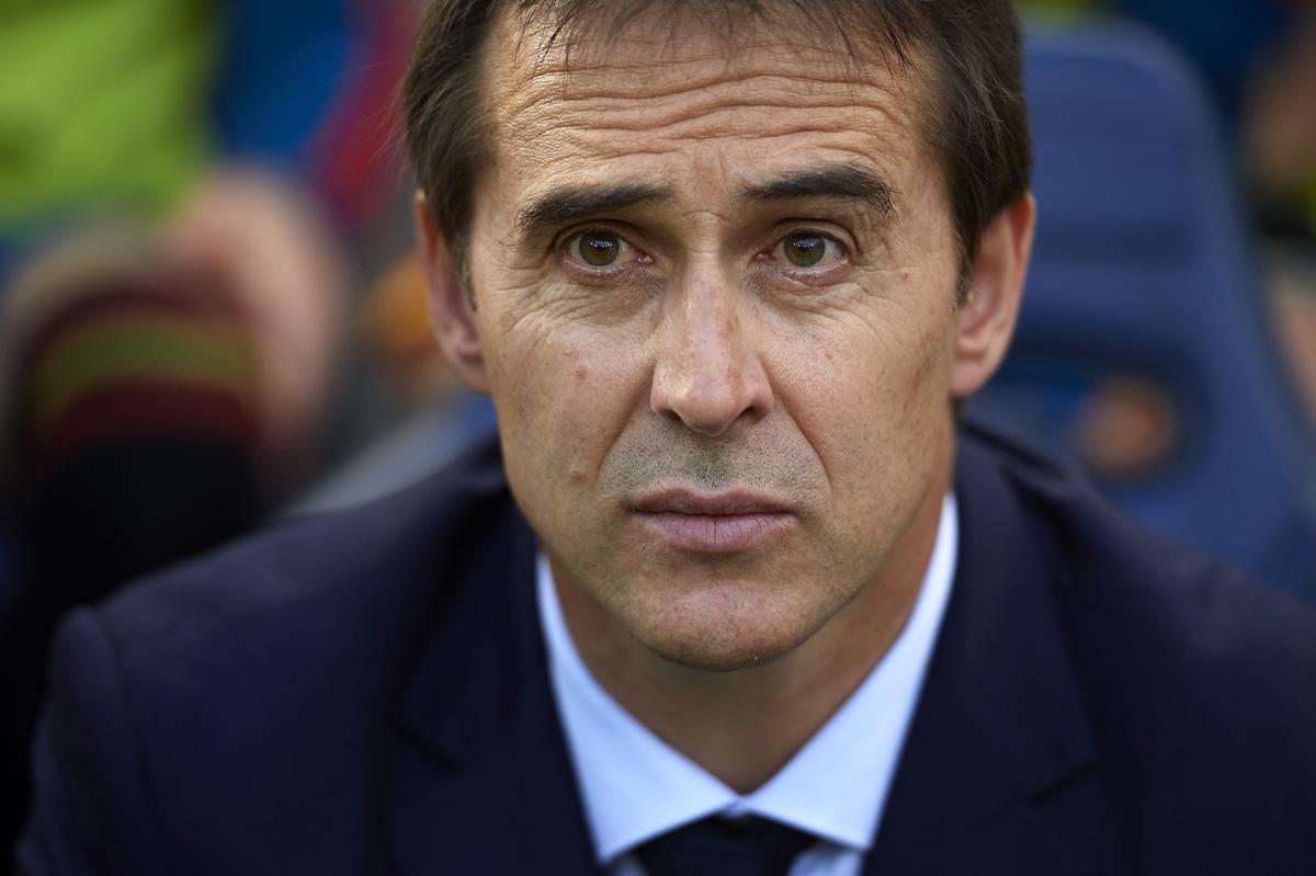 Julen Lopetegui despedido entrenador de España