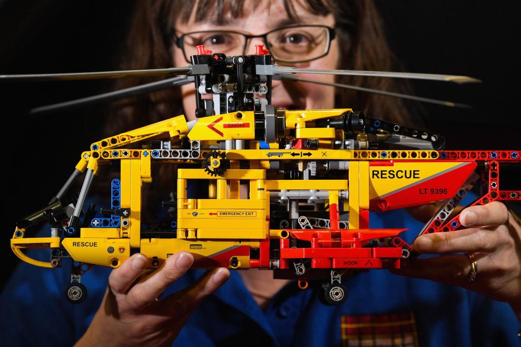Hicieron un detector de armas químicas ¡con piezas de LEGO!
