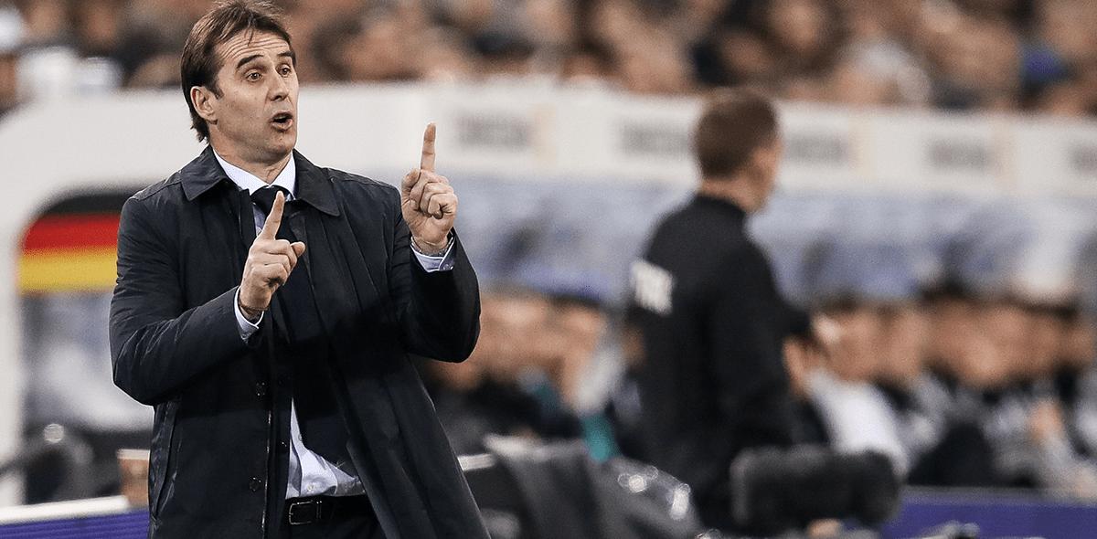 Julen Lopetegui será DT del Real Madrid