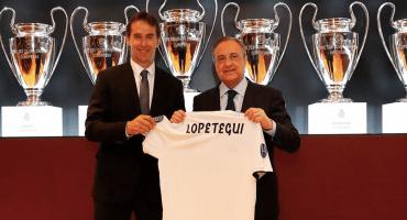 Julen Lopetegui fue presentado con el Real Madrid con todo y escándalo