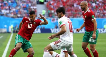 ¡Ya despierta! Hubo más afición que futbol en el Marruecos vs Irán