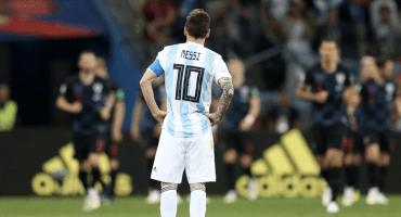 Willy Caballero corrió más que Messi en el partido contra Croacia