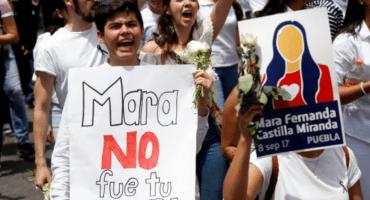 Manifestación Mara Castilla Cabify