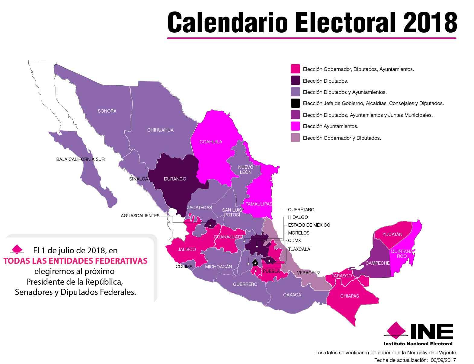 Mapa Electoral INE