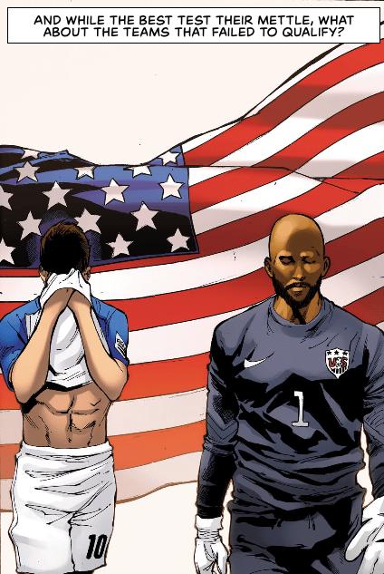 Marvel y ESPN se unen para crear cómic del Mundial 2018