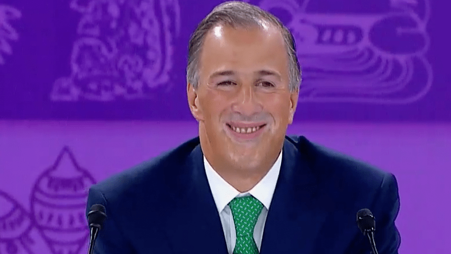José Antonio Meade en Tercer debate