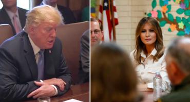 Trump ordena reunir a familias migrantes; Melania visita un centro de detención