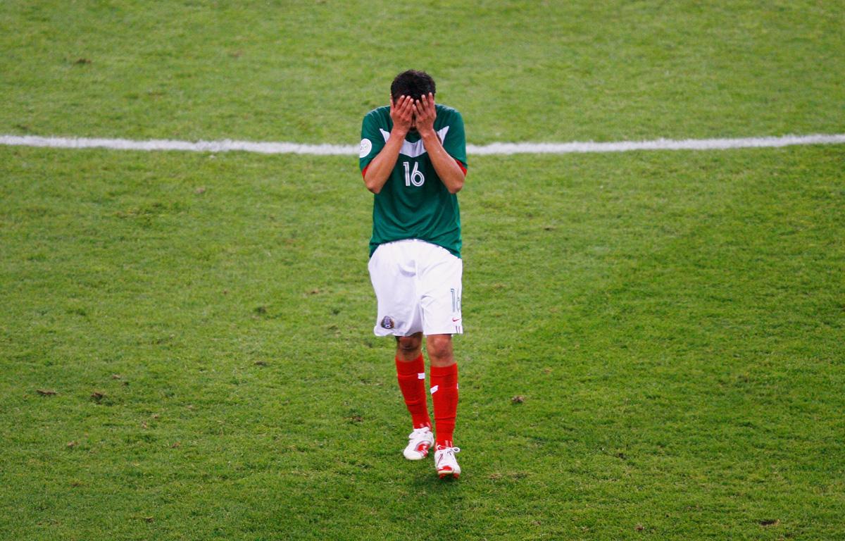 Selección Mexicana eliminada del Mundial de Alemania 2006